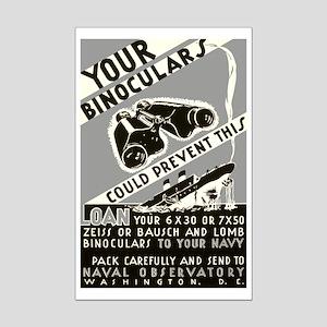 BINOCULAR LOAN poster 11x17