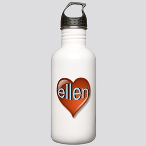 ellen Heart Stainless Water Bottle 1.0L
