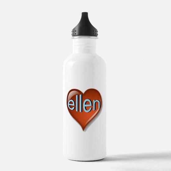 ellen Heart Water Bottle