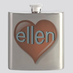 ellen Heart Flask
