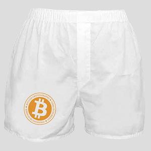 Type 1 Bitcoin Logo Boxer Shorts