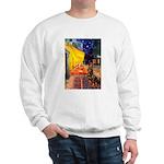 Cafe & Rottweiler Sweatshirt
