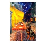 Cafe & Rottweiler Postcards (Package of 8)