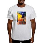 Cafe & Rottweiler Light T-Shirt