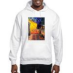 Cafe & Rottweiler Hooded Sweatshirt