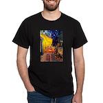 Cafe & Rottweiler Dark T-Shirt