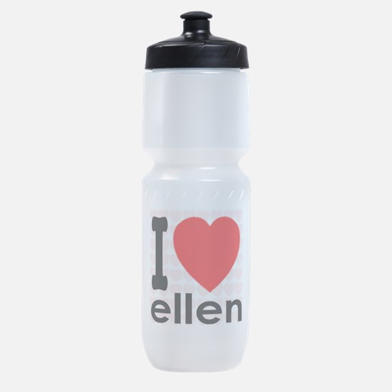 I (Heart) Ellen Sports Bottle