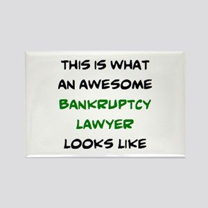 awesome bankruptcy lawyer Rectangle Magnet