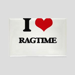 I Love RAGTIME Magnets