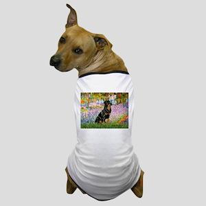 Garden / Rottweiler Dog T-Shirt