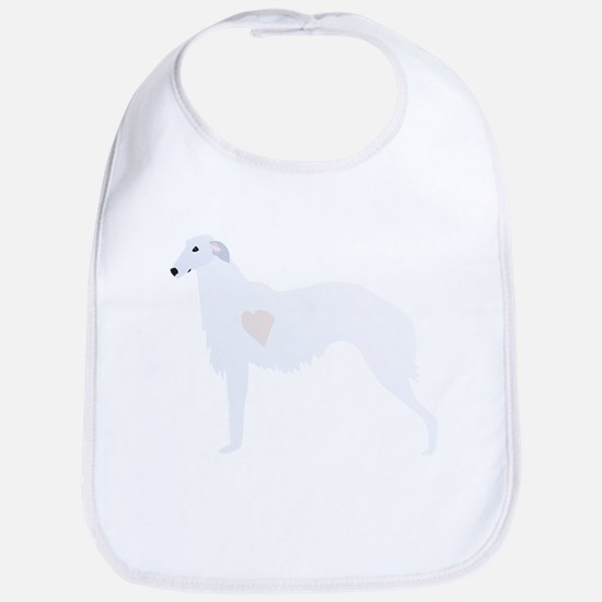 Borzoi Breed Design Bib