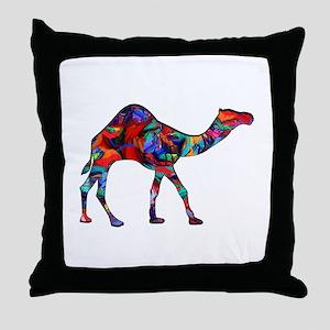 CAMEL VISION Throw Pillow
