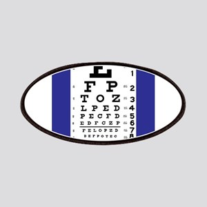 Eye Chart Patches