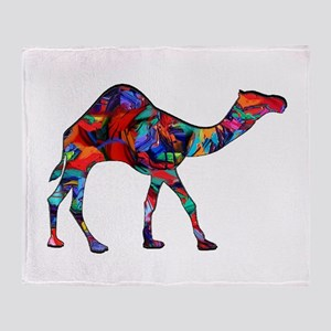 CAMEL VISION Throw Blanket