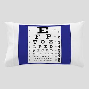 Eye Chart Pillow Case
