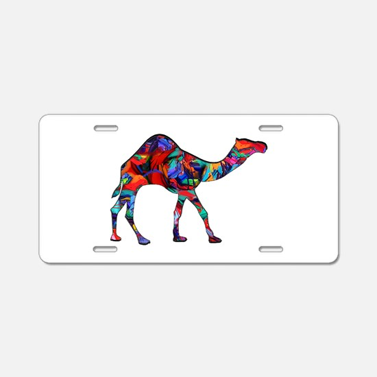 CAMEL VISION Aluminum License Plate