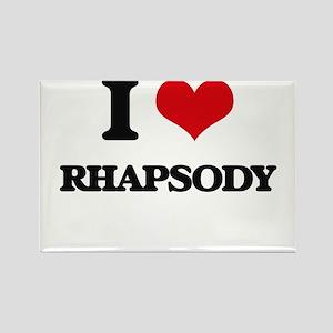 I Love RHAPSODY Magnets
