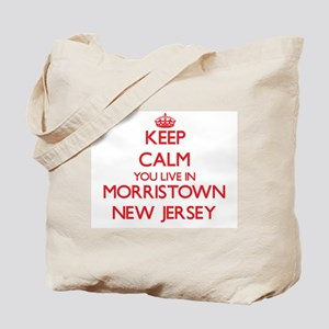 Keep calm you live in Morristown New Jers Tote Bag
