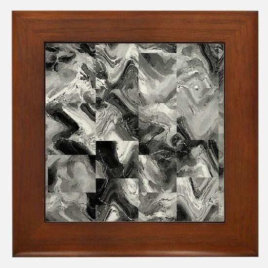 Awesome marble tiles Framed Tile