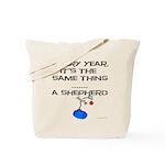 Christmas Shepherd Tote Bag