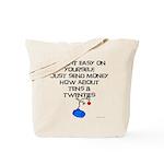 Tens and Twenties Tote Bag