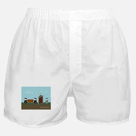 Family of Composers Boxer Shorts