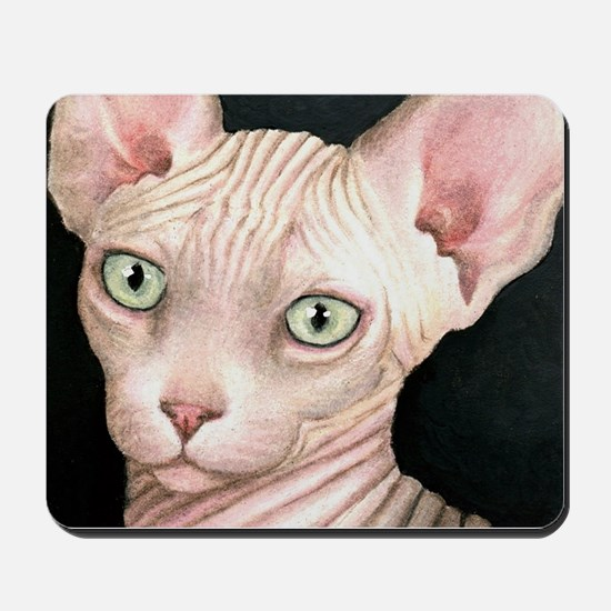 Cat 412 sphynx Mousepad