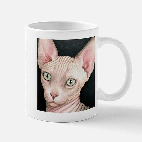 Cat 412 sphynx Mugs