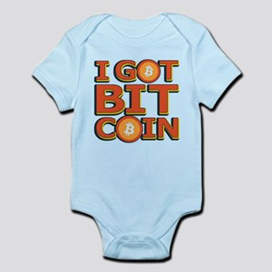 I Got Bitcoin Large Text Body Suit