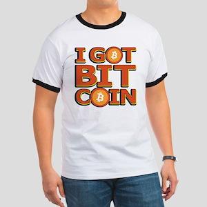 I Got Bitcoin Large Text T-Shirt