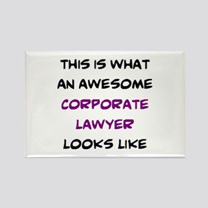 awesome corporate lawyer Rectangle Magnet