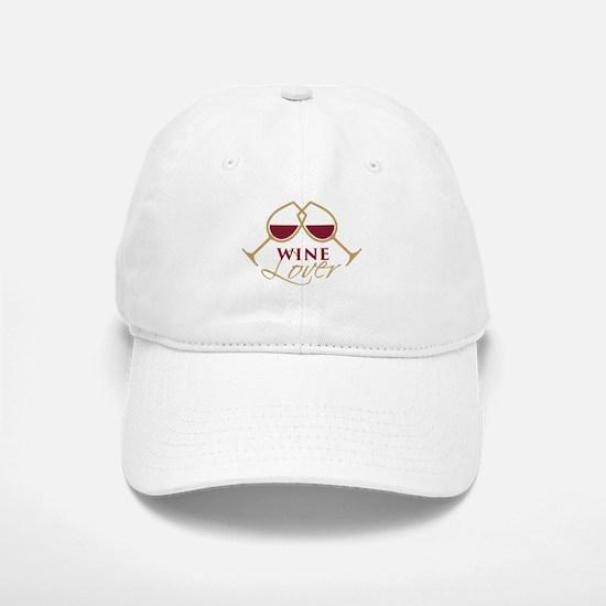 Wine Lover Baseball Baseball Cap