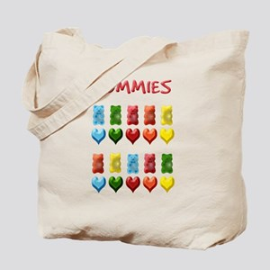 Gummy Bears, Jelly Hearts Tote Bag