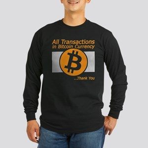 All Transactions in Bitcoin Cu Long Sleeve T-Shirt