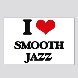 I Love SMOOTH JAZZ Postcards (Package of 8)