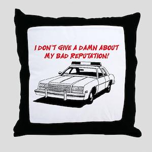 DON'T GIVE A DAMN Throw Pillow