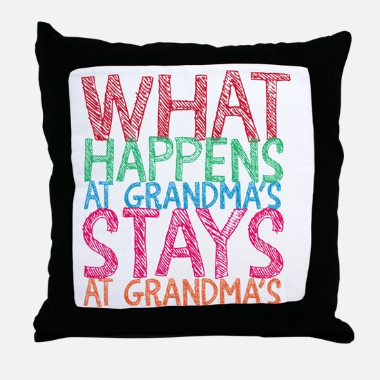 Cute Stays Throw Pillow