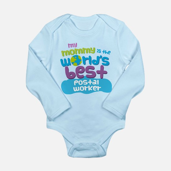 Postal Worker Gift for Kids Infant Bodysuit Body S
