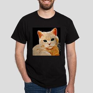 Green Eyed Ginger Tabby Ca T-Shirt