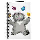 Juggling easter Journals & Spiral Notebooks