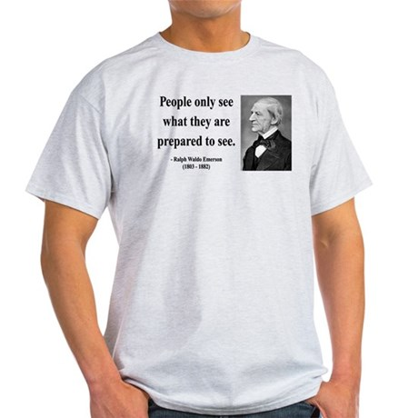 Ralph Waldo Emerson 20 Light T-Shirt