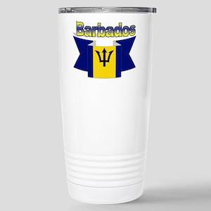 I love Barbados Stainless Steel Travel Mug