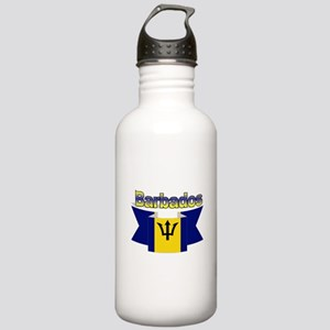 I love Barbados Stainless Water Bottle 1.0L