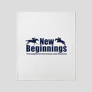 Nbt Logo Throw Blanket