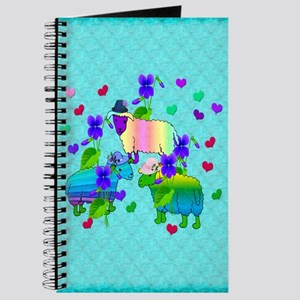 Chinese Year Of the Rainbow Sheep Journal