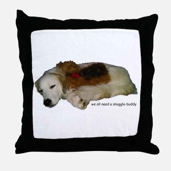 SnuggleBuddy Throw Pillow
