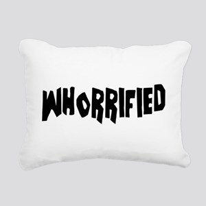 Whorrified Rectangular Canvas Pillow
