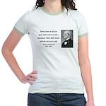 Ralph Waldo Emerson 22 Jr. Ringer T-Shirt