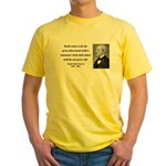 Ralph Waldo Emerson 22 Yellow T-Shirt