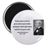 "Ralph Waldo Emerson 22 2.25"" Magnet (100 pack"